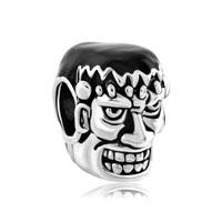 Silver Weird Halloween Dr Frankenstein Bead Designer Charm Bracelets