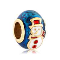 Silver P Gold Red Hat Snowman Faberge Egg Lucky For Beads Charms Bracelets Fit All Brands