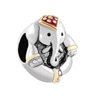 Antique D Thailand Elephant Animal Beads Charms Bracelets Fit All Brands
