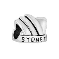 New Australia Sydney Opera House Silver P Beads Charms Bracelets Fit All Brands