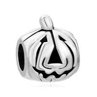Jack O Lantern Halloween Pumpkin Face Fit All Brands Beads Charms Bracelets