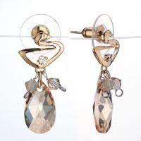 Pure Crystal Drop Dangle Earrings Jewelry Fashion November