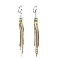 Elegant Tassel Dangle Cluster Earrings