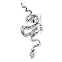 Gothic Temptation Antique Snake Animal Ear Wrap Stud Punk Rock Cuff Earring Left Ear