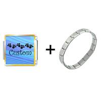 Items from KS - blue streak custom combination Image.