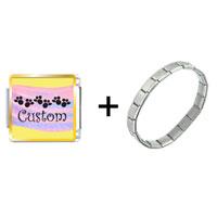 Items from KS - pink sash custom combination Image.