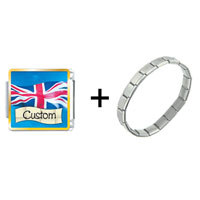 Items from KS - flag of great britain custom combination Image.