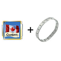 Items from KS - flag of canada custom combination Image.