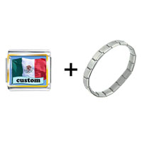 Items from KS - flag of mexico custom combination Image.