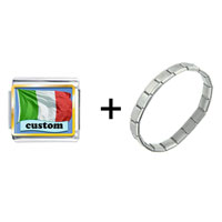 Items from KS - italian flag custom combination Image.