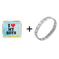 Items from KS - i heart my boys combination Image.