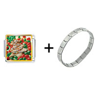 Items from KS - christmas tree cookie and candy combination Image.