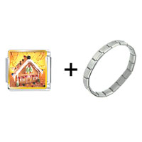 Items from KS - christmas gingerbread house combination Image.