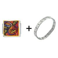Items from KS - jack o lantern art combination Image.