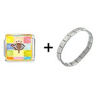 Items from KS - eye symbol combination Image.