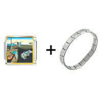 Items from KS - dali' s persistence of memory combination Image.