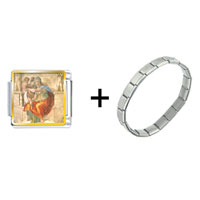 Items from KS - michelangelo' s art delphic sibyl combination Image.
