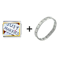 Items from KS - just married sign combination Image.