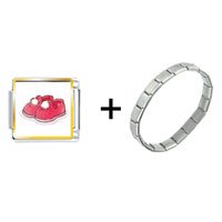 Items from KS - fuzzy red slippers combination Image.