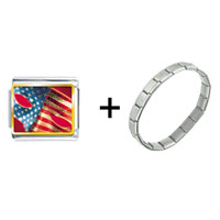 Items from KS - usa flag mask combination Image.