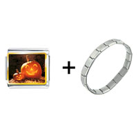 Items from KS - smiling jack o lantern halloween pumpkin face lanterns combination Image.