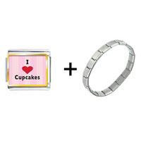 Items from KS - i heart cupcakes combination Image.
