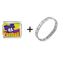 Items from KS - number 1  football combination Image.
