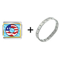 Items from KS - american flag donut combination Image.