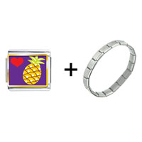 Items from KS - heart pineapple combination Image.