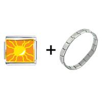 Items from KS - bright yellow sun combination Image.