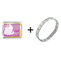 Items from KS - just married photo charms combination Image.