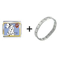 Items from KS - dalmatian dog with spot combination Image.