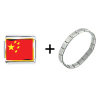 Items from KS - china flag combination Image.