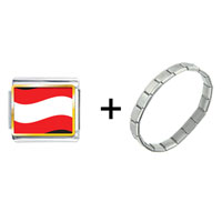 Items from KS - austria flag combination Image.