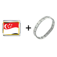 Items from KS - singapore flag combination Image.