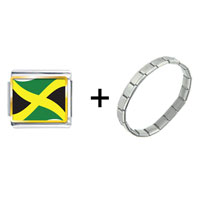Items from KS - jamaica flag combination Image.