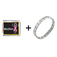 Items from KS - mother support pink ribbon combination Image.
