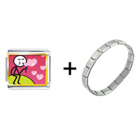 Items from KS - bubbles of hearts photo combination Image.