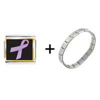 Items from KS - lavender ribbon awareness combination Image.