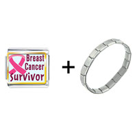Items from KS - breast cancer survivor pink combination Image.