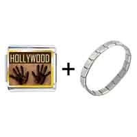 Items from KS - gold plated travel hollywood photo italian charm bracelets Image.