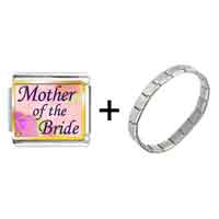 Items from KS - mother of the bride photo italian charm combination Image.