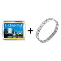 Items from KS - orlando city scenery photo italian charm combination Image.