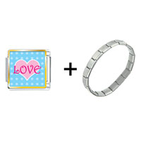 Items from KS - pink love heart combination Image.