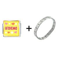 Items from KS - grandma hearts flowers combination Image.