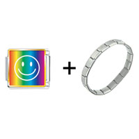 Items from KS - rainbow happy face combination Image.