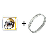 Items from KS - football helmet yellow combination Image.