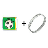 Items from KS - soccer mom photo charm combination Image.
