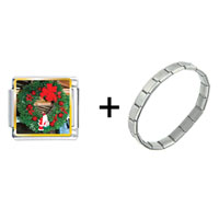 Items from KS - santa wreath combination Image.