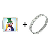 Items from KS - plastic snowman combination Image.